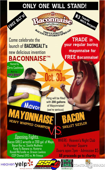 Mayonnaise v. Bacon